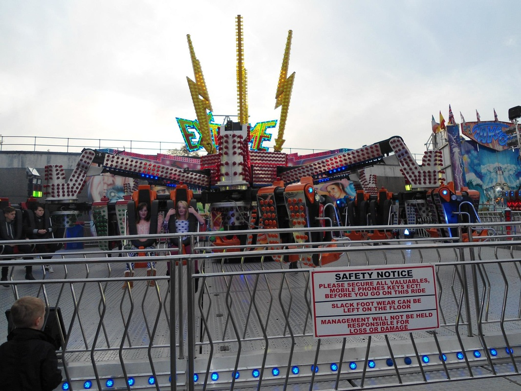All The Fun Of The Fair In Ilkeston - Summer Haze photography